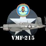 F4U-1 Corsair de la VMF-215