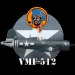 F4U- Corsair de la VMF-512