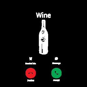 Wein ruft an