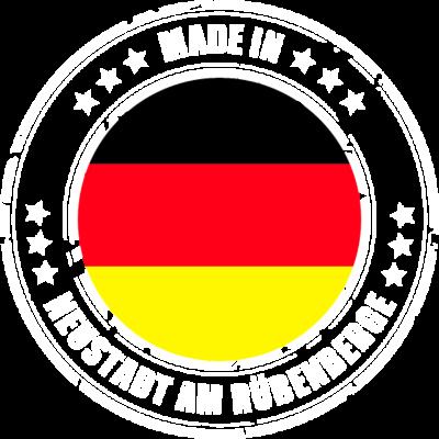 NEUSTADT AM RÜBENBERGE - Du kommst aus NEUSTADT AM RÜBENBERGE? Dann ist dieses Design für dich! - MADE,IN,NEUSTADT AM RÜBENBERGE