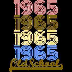 Alte Schule 1965 Vintage Retro Shirt