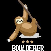 boulderer Faultier