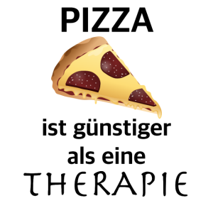 Pizza ist guenstiger als eine Therapie