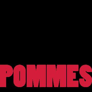 Danach esse ich POMMES #Koch