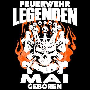 Mai - Geburtstag - Feuerwehr - Legende - DE