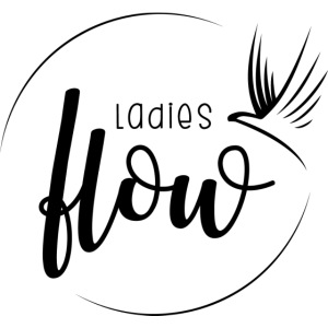 Ladies Flow LO Logo Black