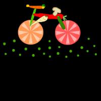 Essbares Fahrrad