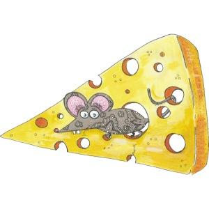 Souris croqueuse de fromage