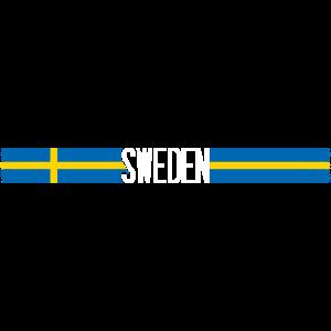 Schweden Flagge/Banner 004 AllroundDesigns