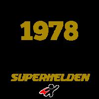 1978 - DIE GEBURT VON SUPERHELDEN T-SHIRT
