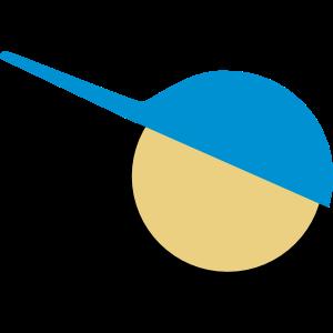 Confi Logo tuerkis beige