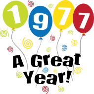 Jahrgang 1970 Geburtstagsshirt: 1977 A Great Year