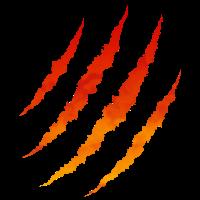 Scratches Lava Feuer