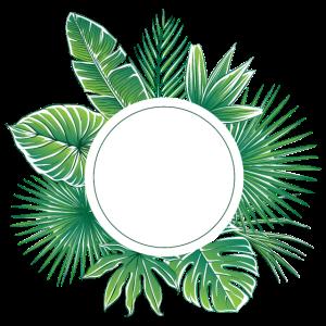 tropisches Design