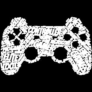 Gamepad Gamer Controller - Videogames Geschenk