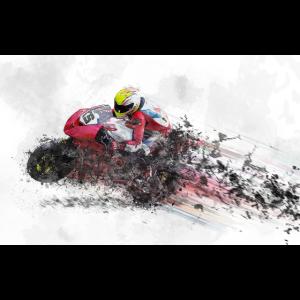 motorcycle-Motorrad