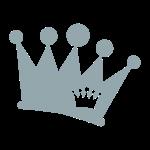 Doppel Krone silber