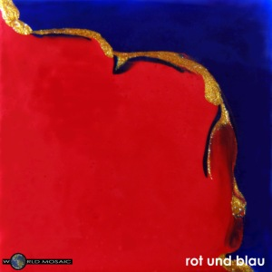 TIAN GREEN Mosaik DE023 - Rot und Blau