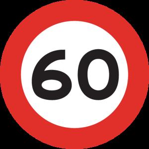 60mph