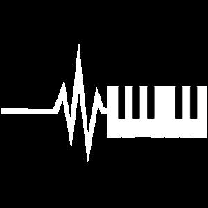 Mein Herz schlägt für Klavier - Musik Noten Tanz