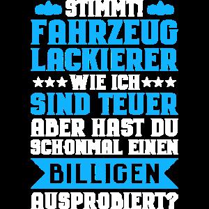 Fahrzeuglackierer/Lackierer/KFZ/Werkstatt/Autos