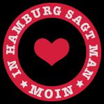 In Hamburg sagt man MOIN / Anker / Plattdeutsch
