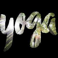 Yoga Schriftzug Bambus