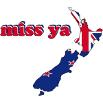 new zealand flag inside miss ya you