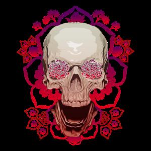 Blumenschädel