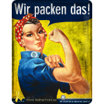 Wir packen das! / We can do it! (s) - digital