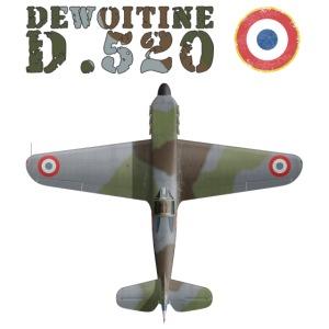 Dewoitine D.520 top
