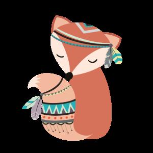 tribal Füchsin