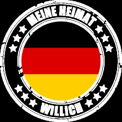 Meine Heimat ist WILLICH - WILLICH ist deine Heimatstadt? Dann ist dieses Design für dich! Meine Heimat,Heimat,Stadt,Deutschland,deutsch,städte,schwarz rot gold,Region, Orte, Ort,Stadtname,Metropole,großstadt,Heimatstadt,city,W - städte,schwarz rot gold,großstadt,deutsch,city,WILLICH,Stadtname,Stadt,Region,Orte,Ort,Metropole,Meine Heimat,Heimatstadt,Heimat,Deutschland