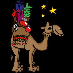 Kamel,Weihnachten