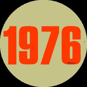 1976 orange circle