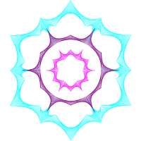 Fiction Deko - Kosmische Staubexplosion