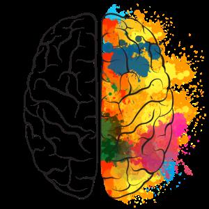Gehirn Kreative
