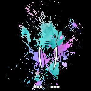 Elefant-aquarell
