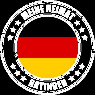 Meine Heimat ist RATINGEN - RATINGEN ist deine Heimatstadt? Dann ist dieses Design für dich! Meine Heimat,Heimat,Stadt,Deutschland,deutsch,städte,schwarz rot gold,Region, Orte, Ort,Stadtname,Metropole,großstadt,Heimatstadt,city, - städte,schwarz rot gold,großstadt,deutsch,city,Stadtname,Stadt,Region,RATINGEN,Orte,Ort,Metropole,Meine Heimat,Heimatstadt,Heimat,Deutschland