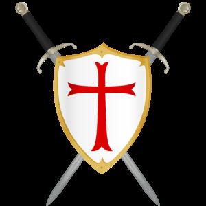 Schild und Schwert Wappen