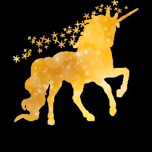 Mythisches wundervolles Einhorn