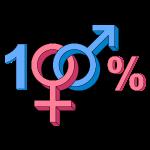 100% Heteroseksueel