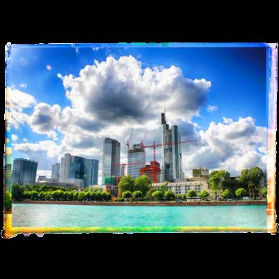 Frankfurt Skyline - Frankfurt Skyline - Frankfurt am Main,Hessen,Frankfurt
