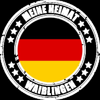 Meine Heimat ist WAIBLINGEN - WAIBLINGEN ist deine Heimatstadt? Dann ist dieses Design für dich! Meine Heimat,Heimat,Stadt,Deutschland,deutsch,städte,schwarz rot gold,Region, Orte, Ort,Stadtname,Metropole,großstadt,Heimatstadt,cit - städte,schwarz rot gold,großstadt,deutsch,city,WAIBLINGEN,Stadtname,Stadt,Region,Orte,Ort,Metropole,Meine Heimat,Heimatstadt,Heimat,Deutschland