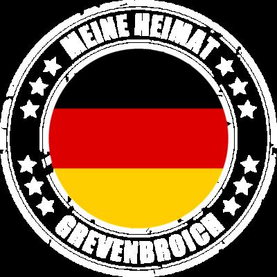 Meine Heimat ist GREVENBROICH - GREVENBROICH ist deine Heimatstadt? Dann ist dieses Design für dich! Meine Heimat,Heimat,Stadt,Deutschland,deutsch,städte,schwarz rot gold,Region, Orte, Ort,Stadtname,Metropole,großstadt,Heimatstadt,c - städte,schwarz rot gold,großstadt,deutsch,city,Stadtname,Stadt,Region,Orte,Ort,Metropole,Meine Heimat,Heimatstadt,Heimat,GREVENBROICH,Deutschland