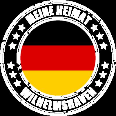 Meine Heimat ist WILHELMSHAVEN - WILHELMSHAVEN ist deine Heimatstadt? Dann ist dieses Design für dich! Meine Heimat,Heimat,Stadt,Deutschland,deutsch,städte,schwarz rot gold,Region, Orte, Ort,Stadtname,Metropole,großstadt,Heimatstadt, - städte,schwarz rot gold,großstadt,deutsch,city,WILHELMSHAVEN,Stadtname,Stadt,Region,Orte,Ort,Metropole,Meine Heimat,Heimatstadt,Heimat,Deutschland