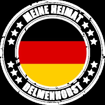 Meine Heimat ist DELMENHORST - DELMENHORST ist deine Heimatstadt? Dann ist dieses Design für dich! Meine Heimat,Heimat,Stadt,Deutschland,deutsch,städte,schwarz rot gold,Region, Orte, Ort,Stadtname,Metropole,großstadt,Heimatstadt,ci - städte,schwarz rot gold,großstadt,deutsch,city,Stadtname,Stadt,Region,Orte,Ort,Metropole,Meine Heimat,Heimatstadt,Heimat,Deutschland,DELMENHORST