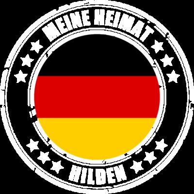 Meine Heimat ist HILDEN - HILDEN ist deine Heimatstadt? Dann ist dieses Design für dich! Meine Heimat,Heimat,Stadt,Deutschland,deutsch,städte,schwarz rot gold,Region, Orte, Ort,Stadtname,Metropole,großstadt,Heimatstadt,city,HI - städte,schwarz rot gold,großstadt,deutsch,city,Stadtname,Stadt,Region,Orte,Ort,Metropole,Meine Heimat,Heimatstadt,Heimat,HILDEN,Deutschland