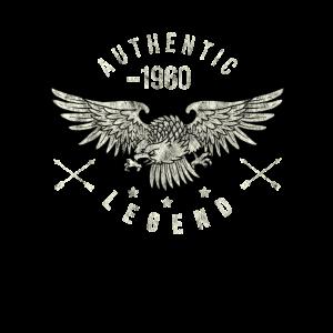 authentic legend 1960 Geburtstag, Geburtsjahr