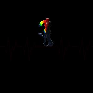 Liebe Love Pärchen Paar Paare Herzschlag Heartbeat